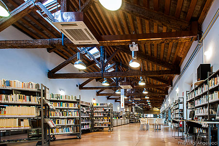 Biblioteca San Giovanni ph Luigi Angelucci