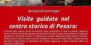 Itinerario centro storico di Pesaro manifesto