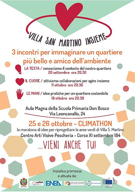 Villa San Martino incontri Climathon