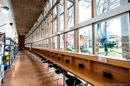 Biblioteca San giovanni ph. L Angelucci