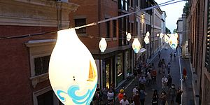 Lanterna colorata