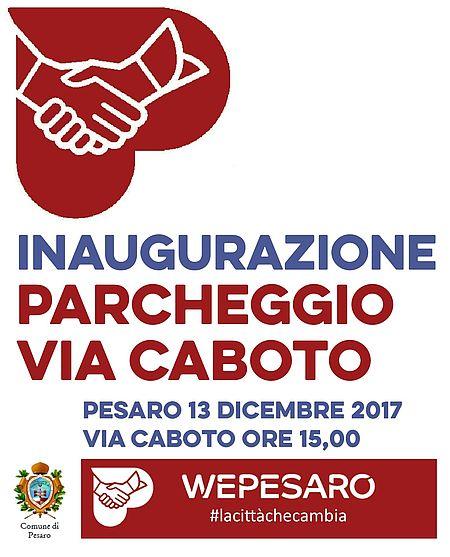 invito inaugurazione parcheggio via caboto