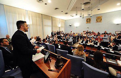 Consiglio comunale con Marco Perugini