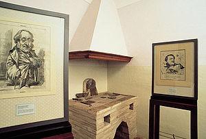 Casa di Rossini, interno