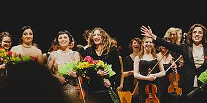 Orchestra Olimpia. Concerto Rosa. Musiciste dal mondo