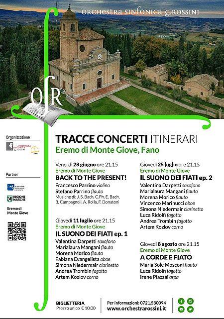 Tracce / Orchestra Sinfonica Rossini 2019_manifesto