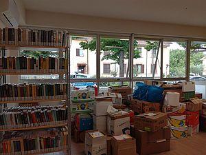 Biblioteca Borgo Santa Maria work in progress