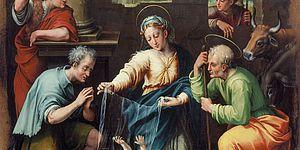 Raffellino del Colle, Adorazione dei pastori, 1539 ca. Pesaro Musei Civici