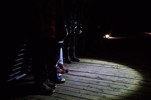 passeggiata nel bosco bambini