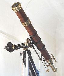 """Telescopio rifrattore """"Merz"""""""