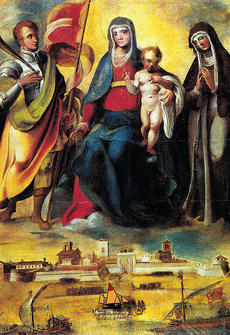Dipinto di Giovanni Antonio Pandolfi_Musei di Palazzo Mosca