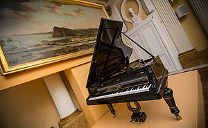 Sala con pianoforte Pleylel