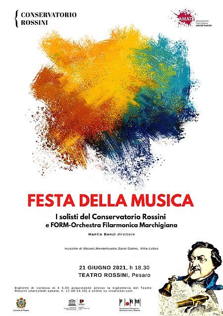 Festa della Musica 2021 manifesto