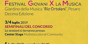 Festival Giovani per la Musica 2019