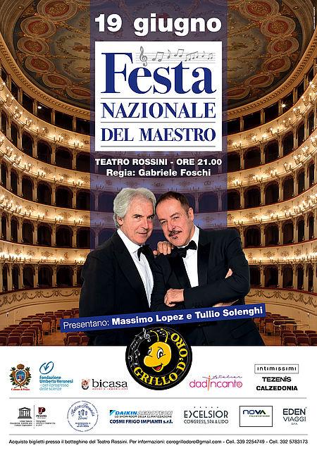 Festa Nazionale del Maestro_manifesto