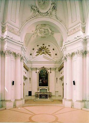 Interno Chiesa Santa Maria Maddalena