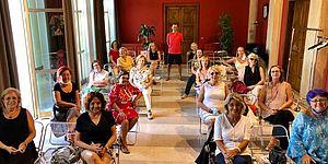 Amici della ceramica in sala Rossa
