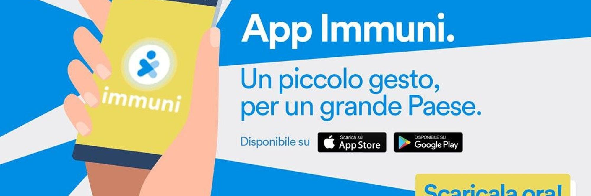 grafica app immuni