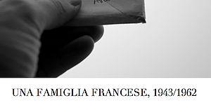 Cartolina Una famiglia francese