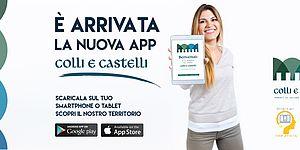 immagine campagna promozione app colline e castelli