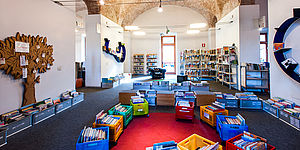 Biblioteca San Giovanni sezione ragazzi_ph Angelucci Luigi