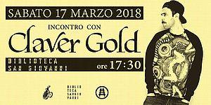 Locandina iniziativa Claver Gold