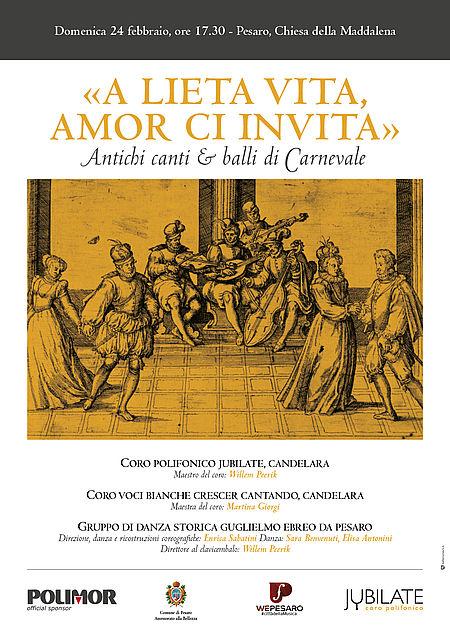 Concerto A lieta vita amor ci invita_locandina