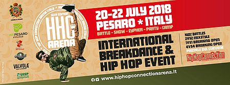 Locandina Hip Hop Connection