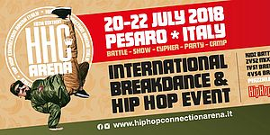 Locandina Hip Hop Connection
