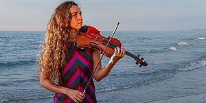 La violinista Lisa Rieder