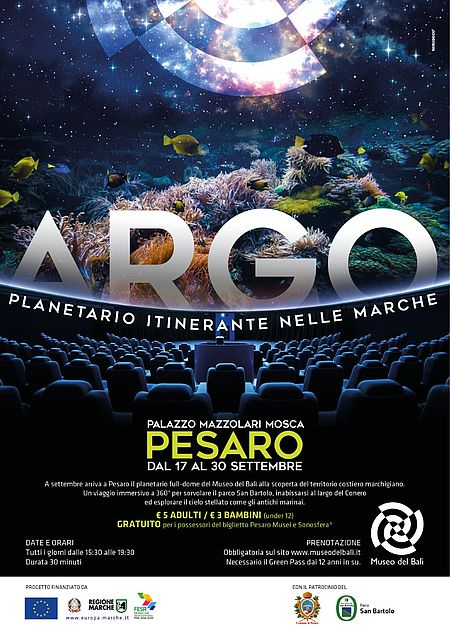 ARGO - Planetario itinerante nelle Marche