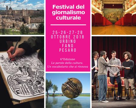 festival giornalismo culturale 2018