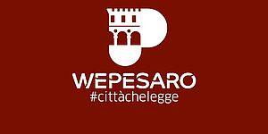 Logo WePesaro città che legge