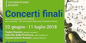 Locandina Concerti finali 2017/2018