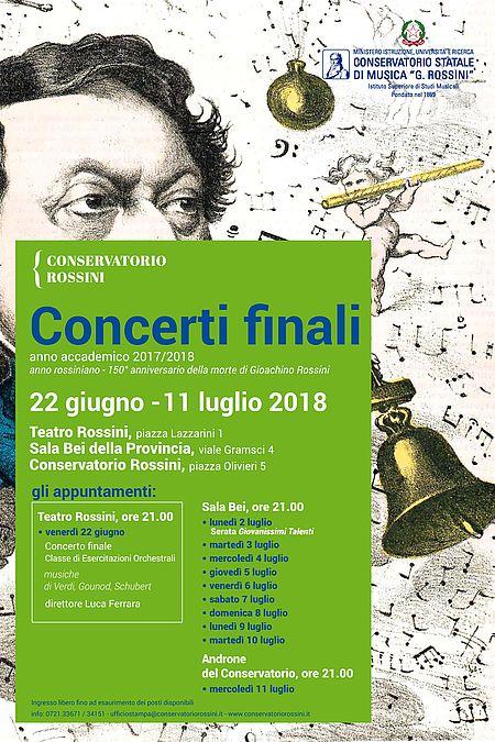 Locandina Concerti finali