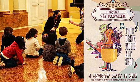 Laboratori per bambini al Museo Nazionale Rossini