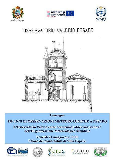 Convegno Osservatorio Valerio locandina