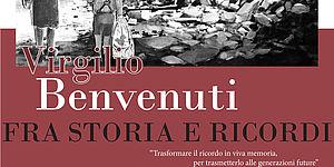 Manifesto presentazione libro di Virgilio Benvenuti