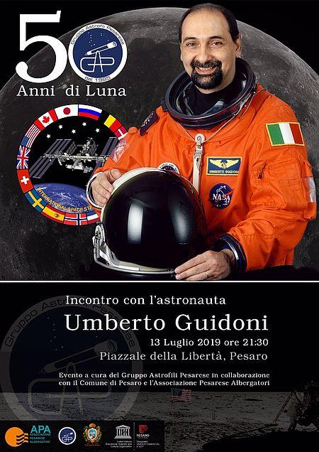 incontro con l'astronauta Umberto Guidoni
