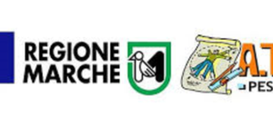 Bando disabilità gravissime 2019 - logo bandiera Europa e Logo Regione Marchea