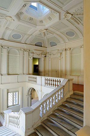 Palazzo Montani Antaldi scalone