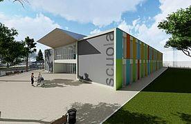 Nuova scuola via Lamarmora