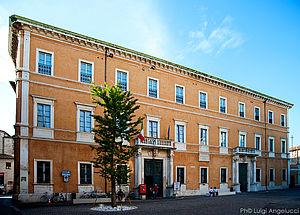 Palazzo Olivieri, sede del Conservatorio Rossini