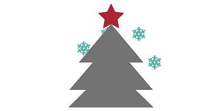 Disegno di un albero di Natale