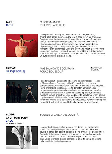 programma_2 stagione danza '18-'19