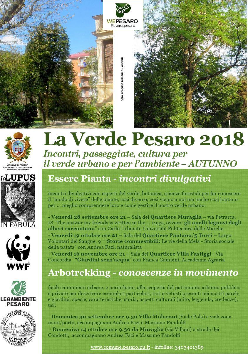 La Verde Pesaro autunno 2018