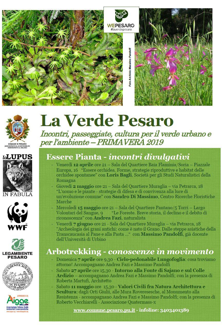 La Verde Pesaro primavera 2019