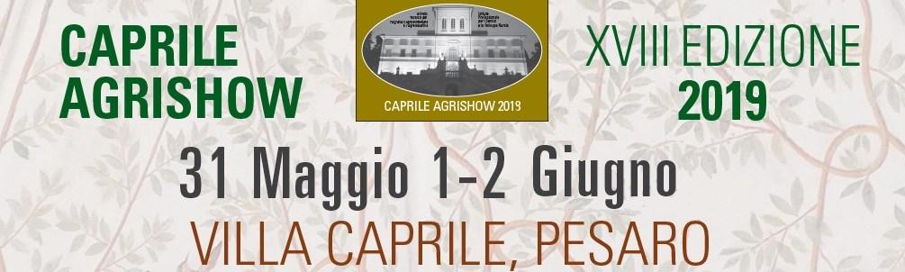Caprile Agrishow 2019 banner