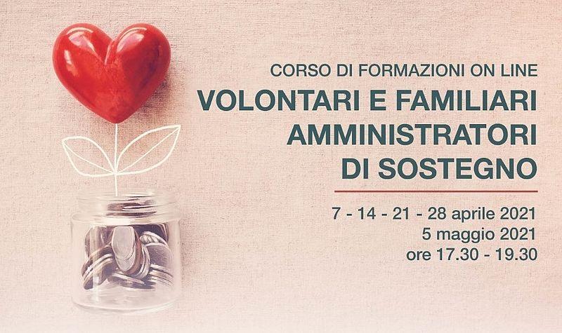 Corso volontari e familiari amministratori di sostegno