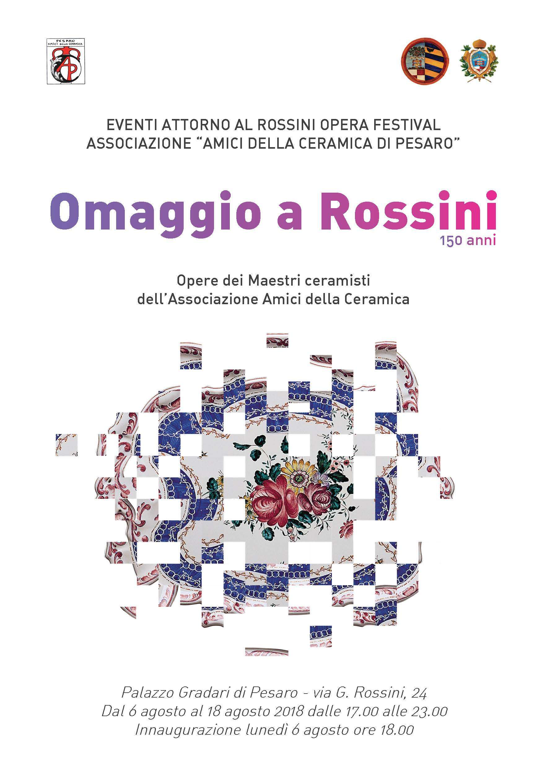Depliant Omaggio a Rossini
